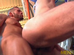 MENATPLAY Latino Denis Vega Fucks With Straight Johan Kane
