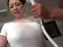 Japanese MILF Getting Wet And Fingered