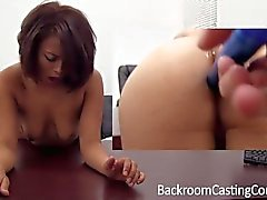 Asian Painal & Creampie Backroom Casting