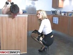 Dominatrix in high heels fucks sub with strapon (New! 17 Apr 2021) - Sunporno