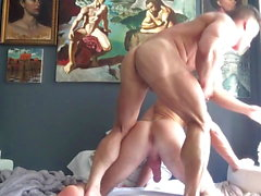 Raw sex with Alexander Mecum