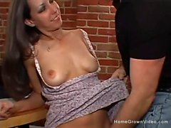 Tight Raven Haired Beauty Gets Sexed - Tight Raven Haired