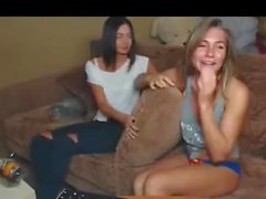 Teen Stripping on Private Cam Caught Part 1 - Watch Part2 on CamsVibe