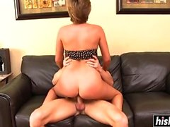 arsch blondine blowjob