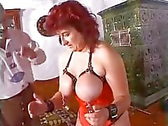 Extreme milf mother granny kinky huge dildos and bizarre bdsm pussy torture
