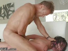 EVIL ANGEL Angela White FINALLY Gets Rocco Siffredi in her ASS Gape