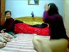 Chinese MILF Lesbians homemade