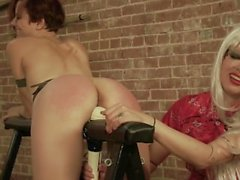 Killer Combination: Spanking and Hitatchi