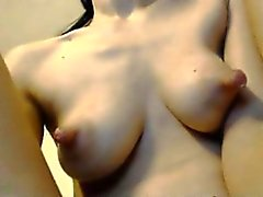 Teenager blonde revealing her huge nipples