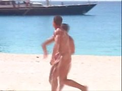 vintage straight guys vacation naked in paradise -(©¿©)-