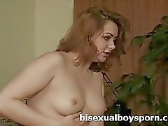 2 biboys in threesome with girlfriend